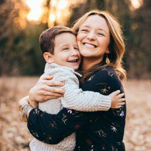 Happy Mom and PTLS Kid